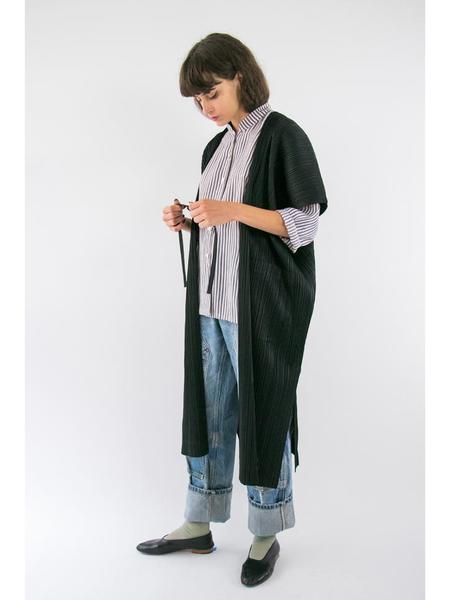 Issey Miyake Square Form Kimono - Black