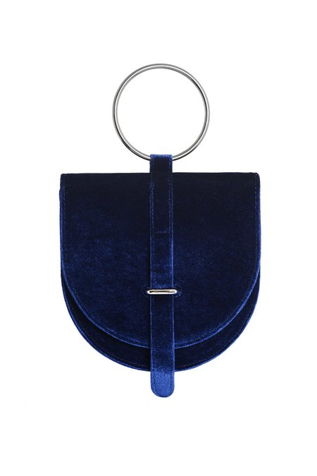 Iridescence O-Ring Bag - Navy