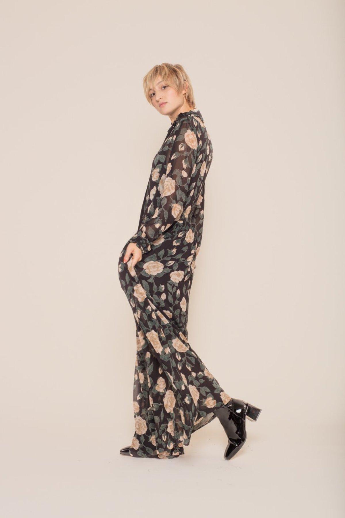 b0b941c56d7 Ganni Carlton Georgette Maxi Dress