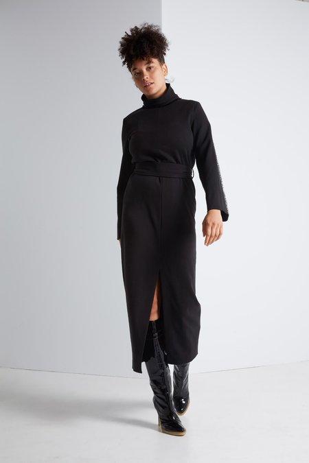 Nanushka Galen Soft Gabardine Knit Dress