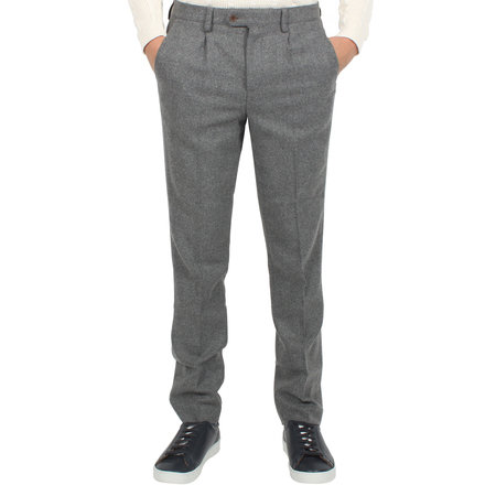 Afield Tricker Trousers Herringbone