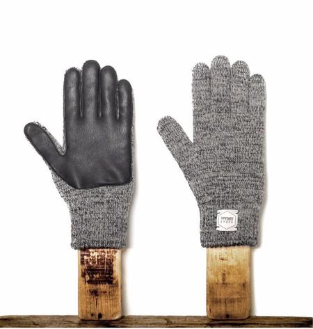 Unisex Upstate Stock Gloves With Deerskin