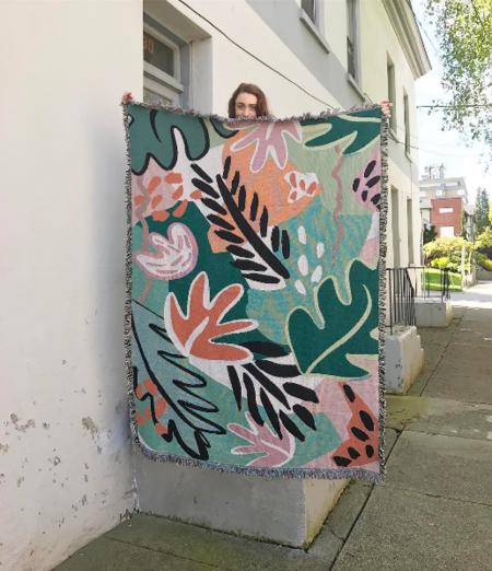 Slowdown Studios Mayfield Throw Blanket