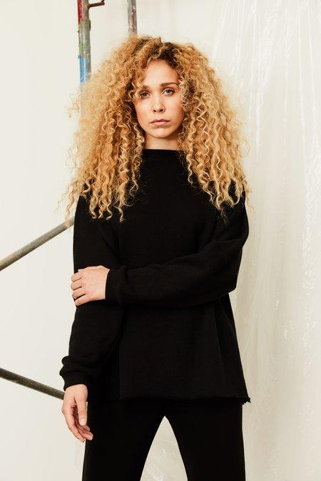 Devlyn Van Loon Boatneck Sweater - Black