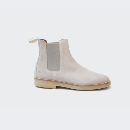 Woman by Common Projects Chelsea Boot in Suede - Grey