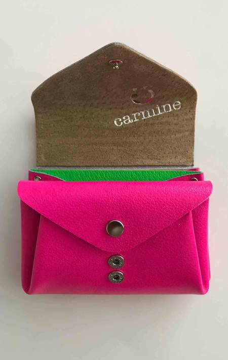 Two New York Pink Carmine Wallet
