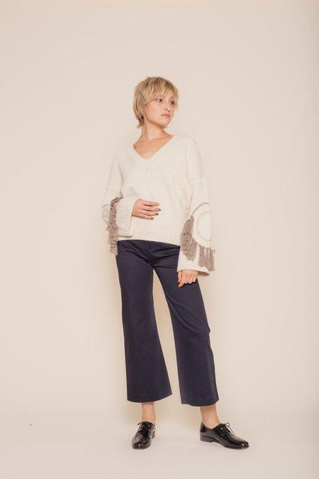 Kordal Circle Fringe Sweater