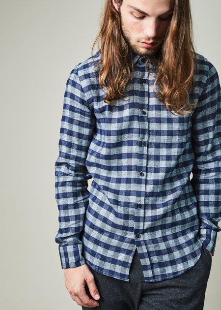 Homecore Tokyo Check Button Down Shirt