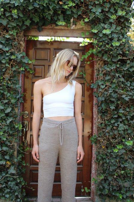 Beklina Organic Cotton Knit Bra Top - Natural