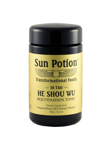 Sun Potion He Shou Wu Wildcrafted - 80g Jar