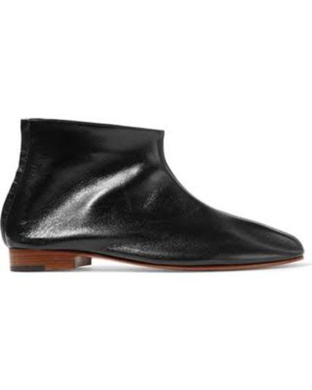 MARTINIANO LEONE BOOTS - BLACK