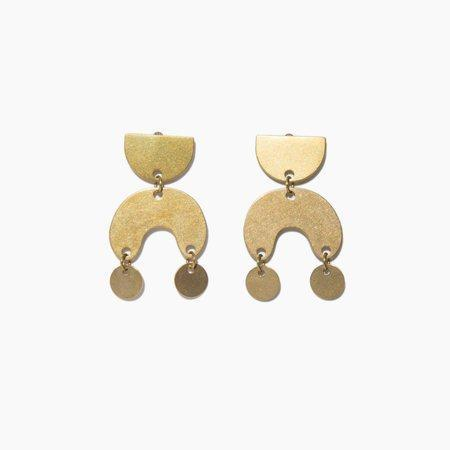 Modern Weaving Mini Moondance Earring