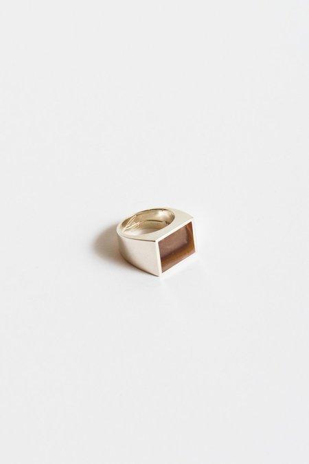 Legier Zion Rhyolite Wonderstone Ring in Silver