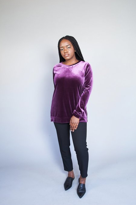 Dagg & Stacey Prarie Pullover - Violet