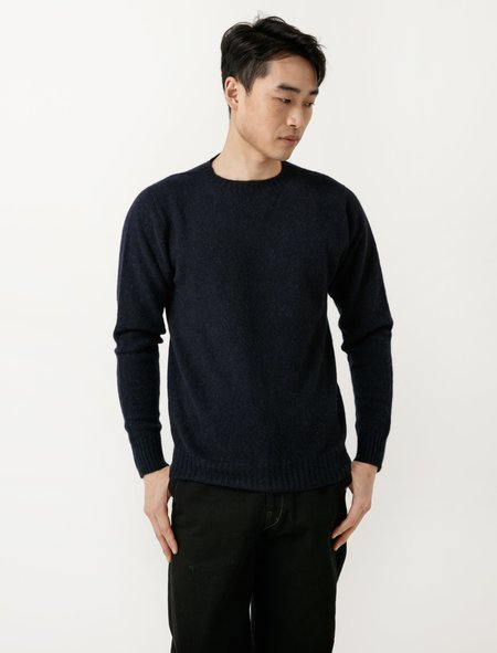 Neighbour Superfine Wool Sweater - Notte