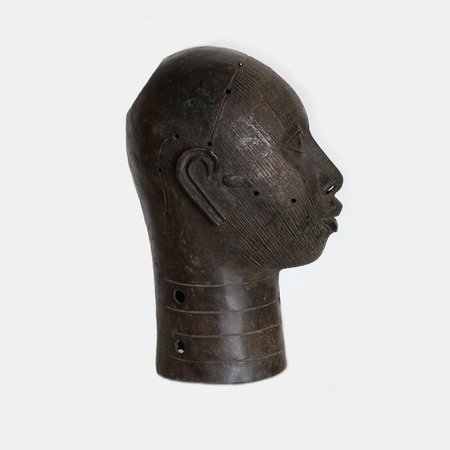 Alchemy Works Vintage Bronze Head - Smooth Detailing