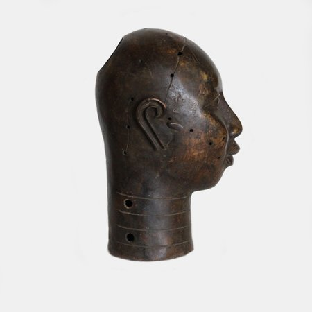 Alchemy Works Vintage Bronze Head - Striped Detailing
