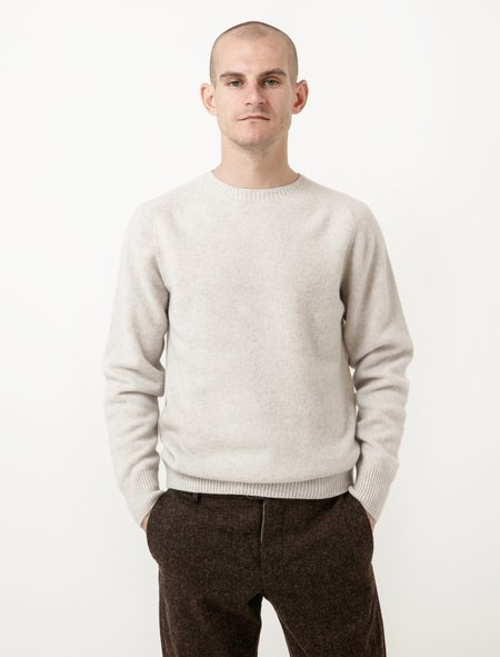 Margaret Howell Saddle Neck Crew - Merino Cashmere Cloud