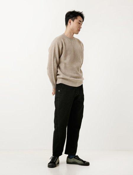 Lemaire Denim Twisted Pants - Black