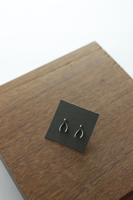 Giles and Brother Tiny Wishbone Earrings