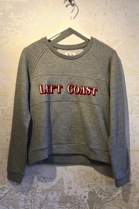 Zoe Karssen Left Coast Shrunken Sweatshirt