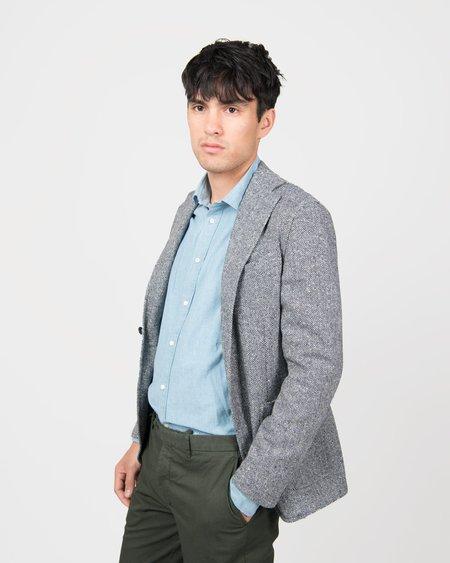 Eidos Donegal Herringbone Shirt Jacket Blazer