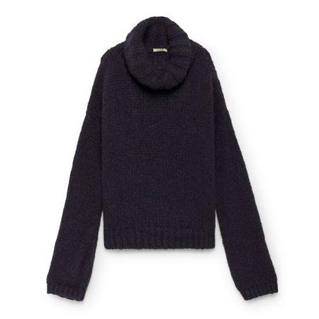 LOA Oversize Sweater - Purple