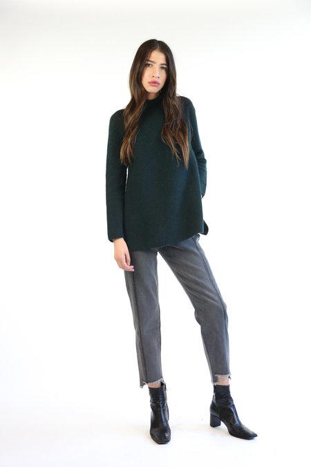 Mijeong Park Whole Garment Pullover - Green
