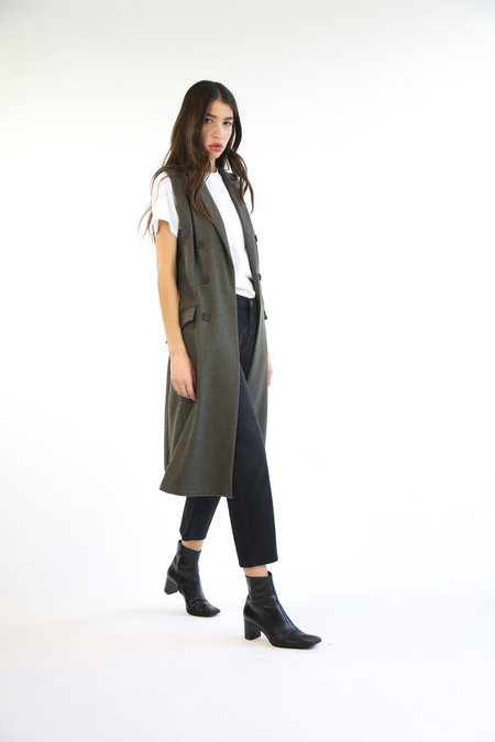 Collection Essential Vest - Dull Green