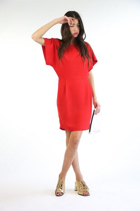 Just Female Ann Dress - Posh Red