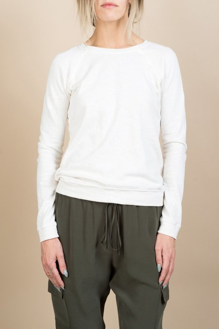Calder Blake Mini Brady Knit Pullover In Cream