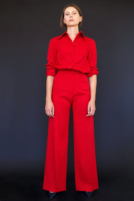 Town Clothes Odile Pant in Red