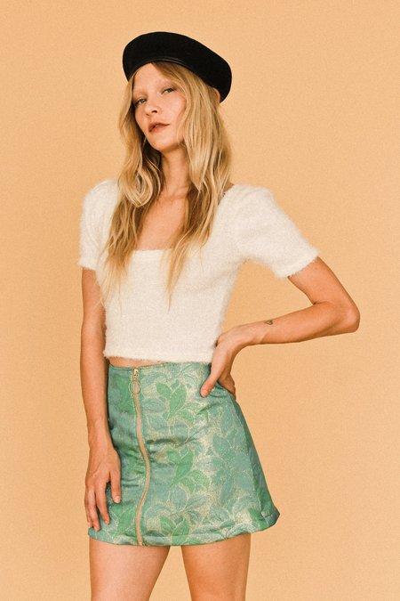 Lykke Wullf Holiday Zip Up Skirt