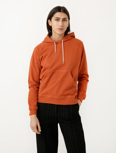 Norse Projects Liva Hoodie - Pure Umber
