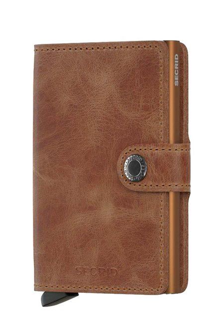 SECRID Mini Wallet - Vintage Cognac