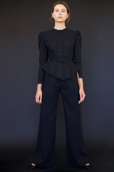 Town Clothes Odile Pant in Black