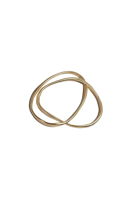 Lila Rice Double Rialta Bangle