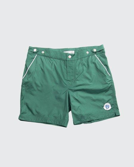 Robinson Les Bains Oxford Long Swim Shorts