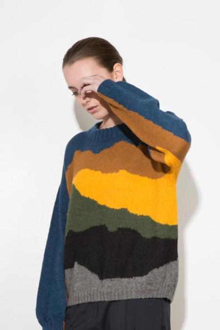 H. Fredriksson *F17 Alpaca Knit Sweater - Landscape