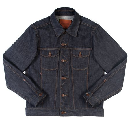 Freenote Cloth Freenote Classic Denim Jacket—13 oz. Broken Twill Selvedge Denim
