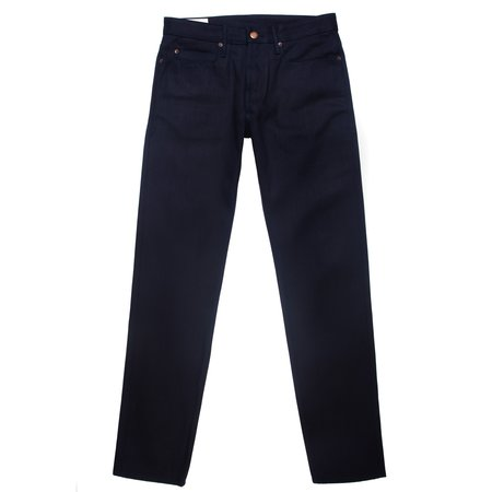 Freenote Cloth Freenote Portola Classic Taper Jeans—14.75 oz. Hishitomo Blue Black Selvedge
