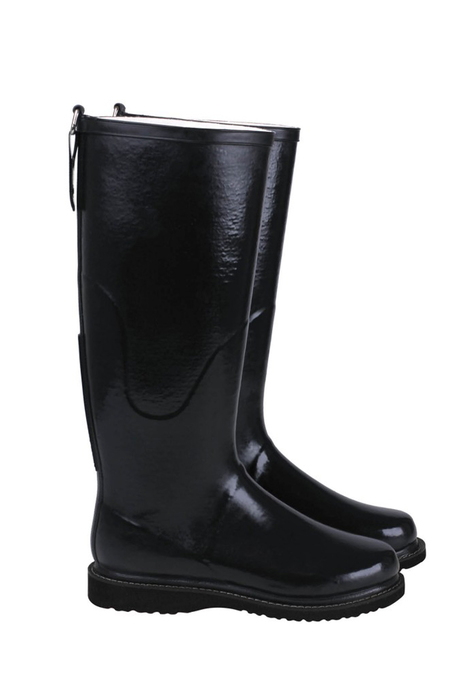 ILSE JACOBSEN Long Rain Boots - Black