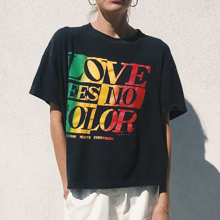 Procell Vintage Love Sees No Color Tee