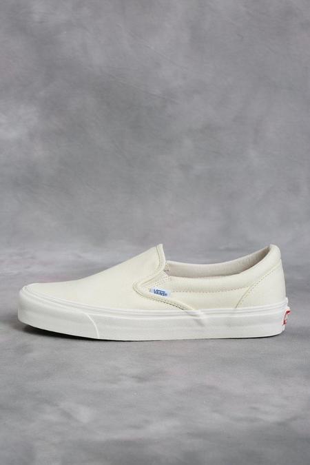 Vans Vault White OG Classic LX Slip-On