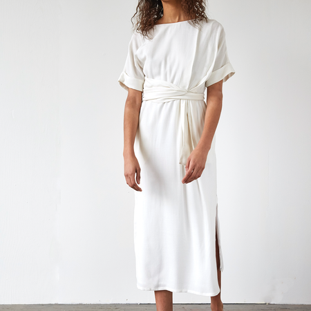 Ajaie Alaie Monologue Dress - Cloud