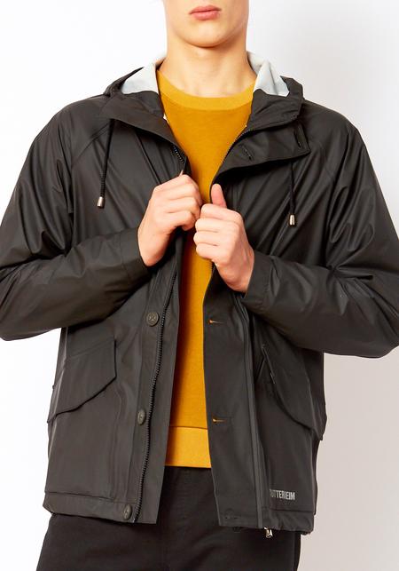 Unisex Stutterheim Black Stenhamra Coat
