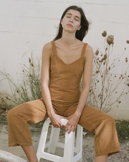 Paloma Wool Hockey Jumpsuit in Ochre