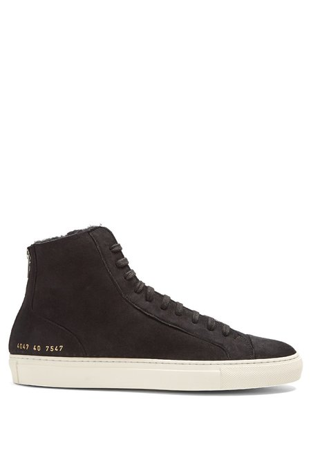Common Projects Shearling Lined Tournament High Tops