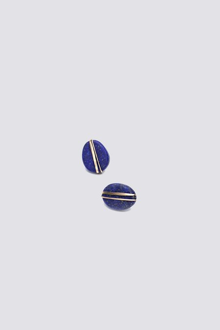 Mary MacGill Wrapped Lapis Studs
