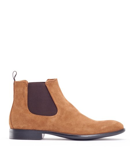 Vagabond Harvey Suede Chelsea Boot - Cinnamon